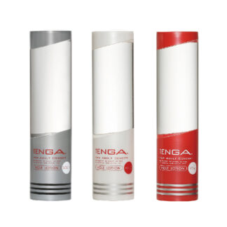 Lubricant Bundle by TENGA for penis masturbation sleeves.